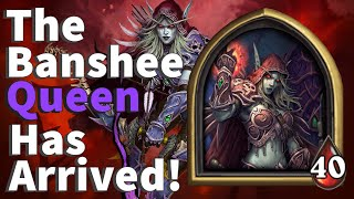 The Banshee Queen Has Arrived! First Time SYLVANAS! - Hearthstone Battlegrounds