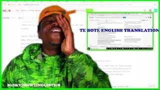 READING TE BOTE REMIX LYRICS IN ENGLISH TRANSLATOR | MalikVISION ORIGINALS