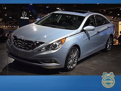 2017 Hyundai Sonata Video Kelley Blue Book La Auto Show