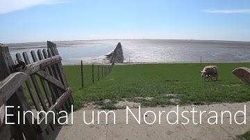 Radtour 2018 Einmal um Nordstrand