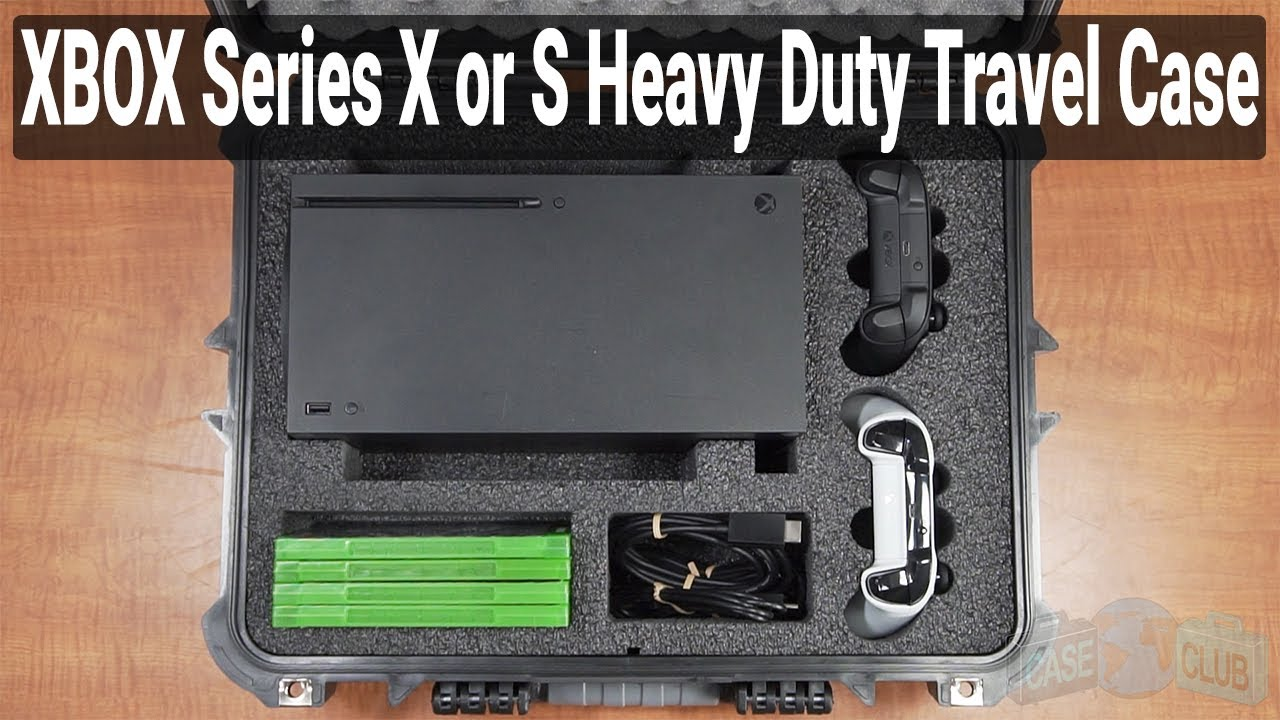 Xbox Series X or S Heavy Duty Travel Case - Video