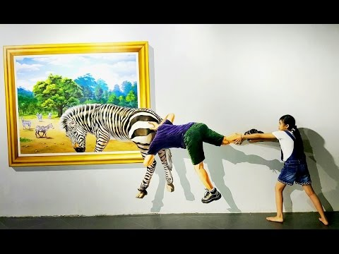 Funny Kid 3D Trick Art Museum for Kids...for child at heart (Phnom Penh, Cambodia)