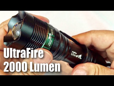 Cree L T6 Torch Lumen Tactical 2000 Led Lamp Ultrafire Flashlight Xm Zoomable K1cTlFJ