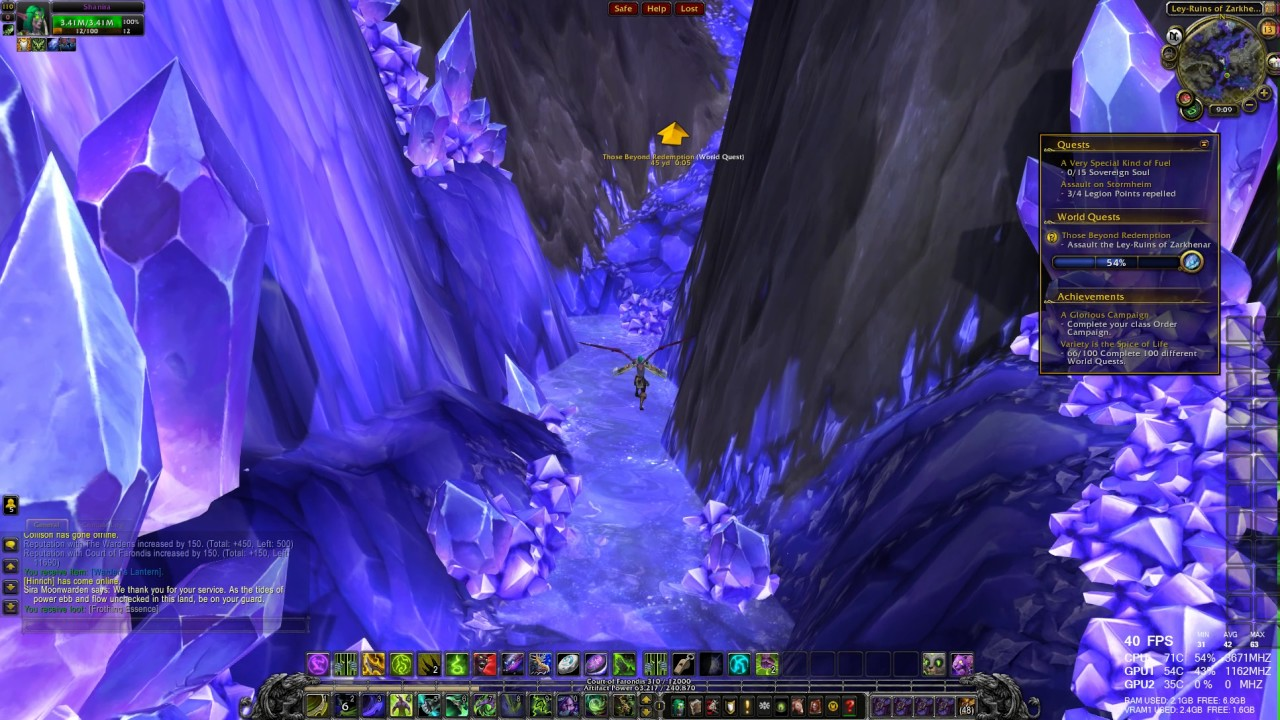 World Quest Those Beyond Redemption Wow Legion Hd 1080p 60fps Youtube