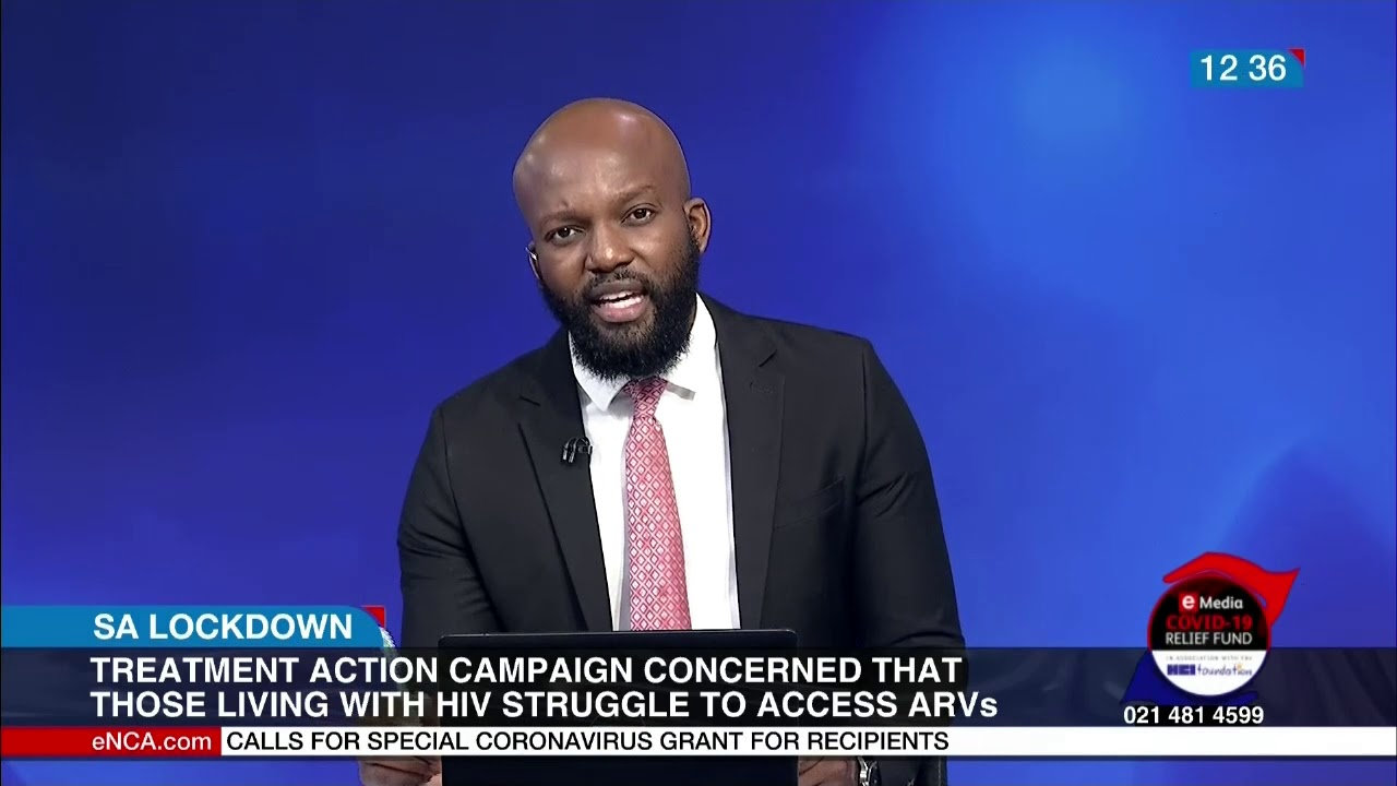 SA Lockdown   HIV activists concerned about availability of medication