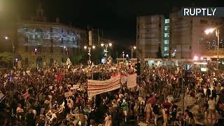 Anti-Netanyahu's protest in Jerusalem   2020