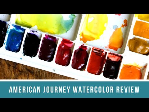American Journey Watercolor Review