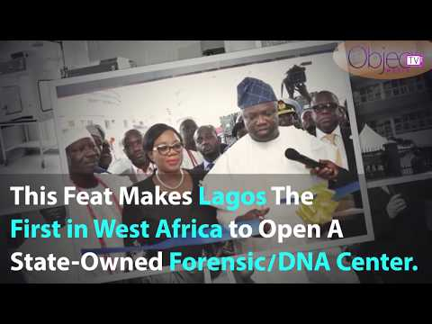Ambode Opens first Forensic and DNA Center to Check Crimes in Lagos