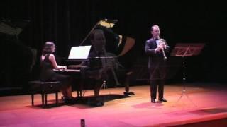 Malcolm Arnold: Sonatina para clarinete y piano - III Allegro Furioso