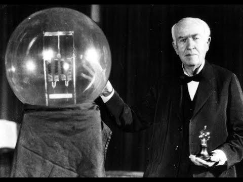 Edison Discovered Electricity !