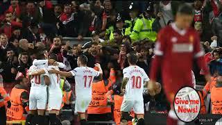 Liverpool dejo escapar la Victoria ante el Sevilla en Champions!