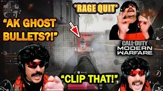 DrDisrespect RAGE QUITS COD's New Map & Watches Slow Motion Replay!