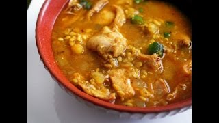 Chicken Dhansak Curry Recipe (lentils And Chicken Recipe)