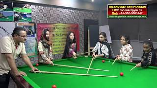 Gambar cover Snooker Coaching  / Training! Join Female Snooker Class with Arshad Qureshi at TSG.PK
