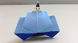 Origami Doll Festival Hinamatsuri Emperor - Print At Home