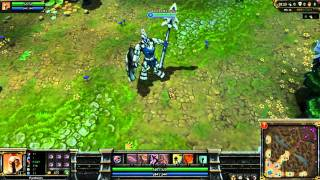 League Of Legends: Full Metal Pantheon Preview (blue edition) [HD]