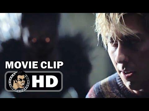 DEATH NOTE Movie Clip - Light Meets Ryuk (2017) Willem Dafoe Netflix Horror Movie HD