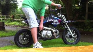 STOMP JUICEBOX 3 50cc PIT BIKE start up .