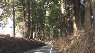 日光街道歩き旅#29 大沢宿→今市宿追分 2014/01/04(1/4)