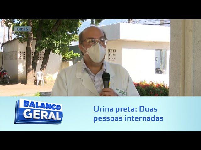 Urina preta: Duas pessoas internadas depois de comer peixe na Massagueira