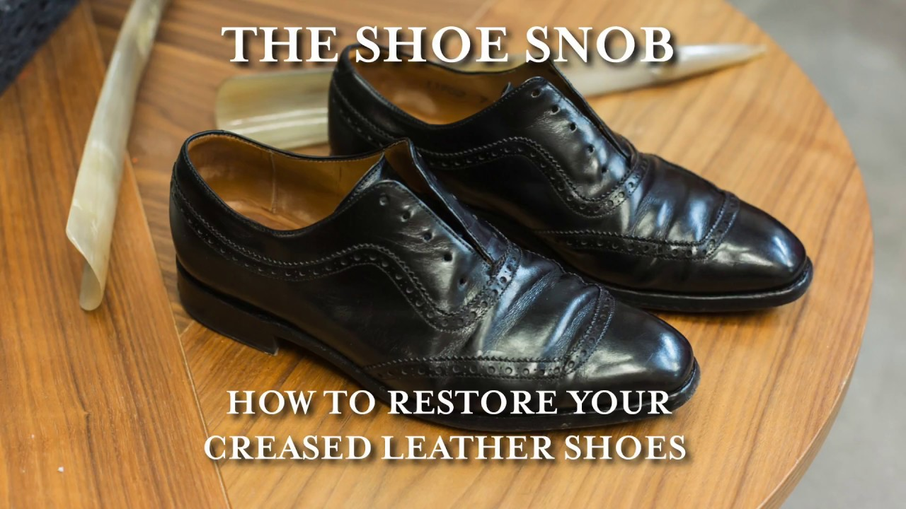 Repair Badly Scuffed Leather Shoes