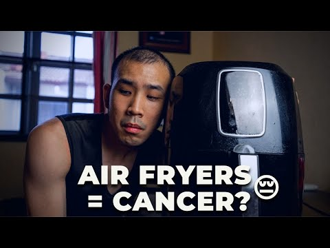 Are AIR FRYERS UNSAFE to use?! Acrylamide and...CANCER?! | ASK A DIETITIAN