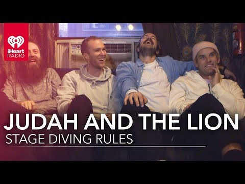 How to Stage Dive with Judah & the Lion