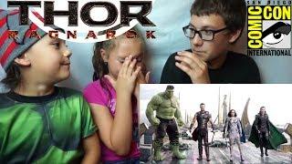 THOR 3: RAGNAROK Official Comic Con Trailer #2 Reaction!!!