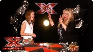 Shelley Smith spills her secrets at the TalkTalk Backstage Party - The X Factor 2013