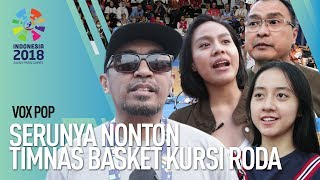 ASIAN PARA GAMES 2018- NONTON LANGSUNG BASKET KURSI RODA INDONESIA VS CHINA