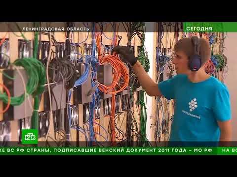 Майнинг отель Кириши, технопарк Левобережный | НТВ о КриптоЮниверс