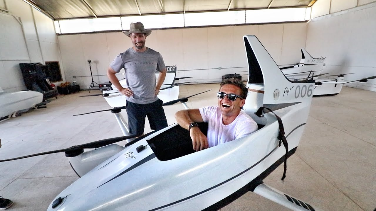 The Kitty Hawk Flyer is your own personal electric aircraft