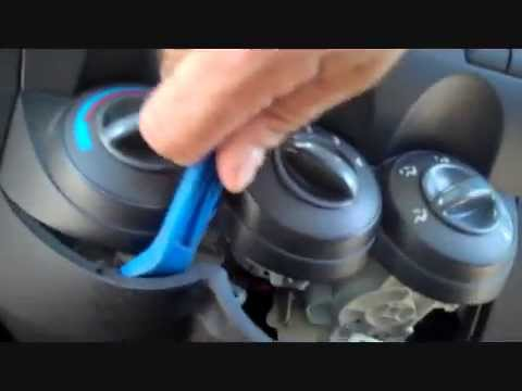 How To Honda Fit Car Stereo Removal 2007  - 2008 Replace Repair Aux Jack