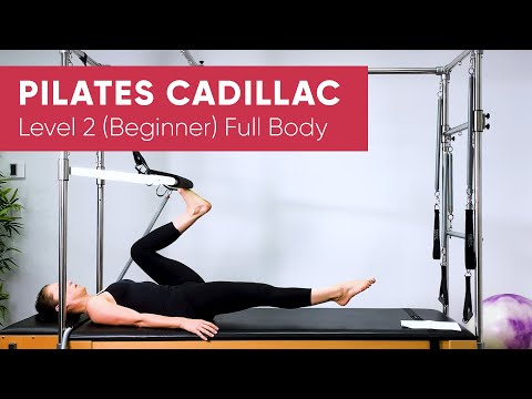 Pilates Workout | Cadillac Trapeze Table | Full Body 50min | Level 2 (Beginner)