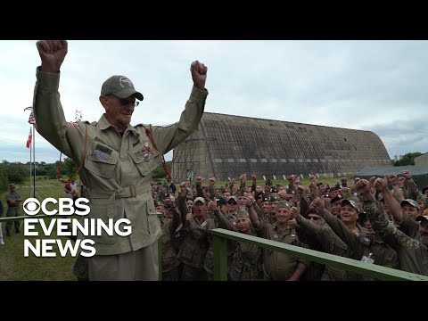 The Morning Rush - Vet celebrates 75th Anniversary of D-Day by parachuting into Normandy