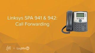 linksys spa 941 942 call forwarding