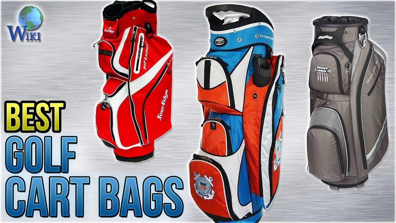 b5b098b64b 10 Best Golf Cart Bags 2018 - YouTube