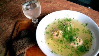 Самый вкусный рыбный суп с фрикадельками!
