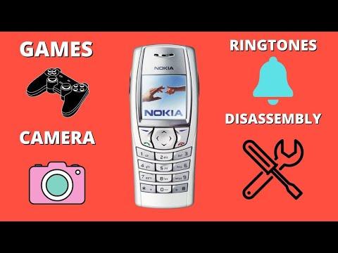 Nokia 6610i.Recenzja/Demontaż/Review/Disassembly/Repair/Ringtones.Retro