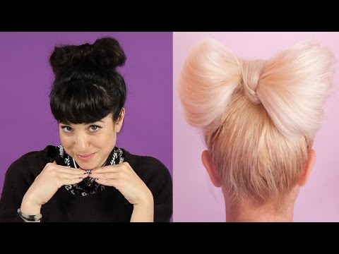 Thumbnail: Women Try Pinterest Hair Tutorials