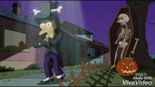 The Simpsons - Grown up halloween