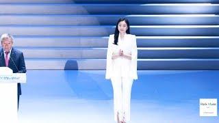 Yuna Kim (김연아) 평창동계올림픽 1주년 'Again 평창' 축하연설 (축사) Speech Full Ver. 4K 190209