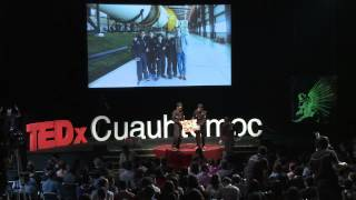 JugANDO-Aprender de una manera diferente | Pepe, Rafael y Héctor - Alumnos RobotiX | TEDxCuauhtemoc