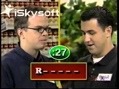 Supermarket Sweep - Rashel & Stacy vs. Tolga & Donovan vs. Amanda & Mike (2001)