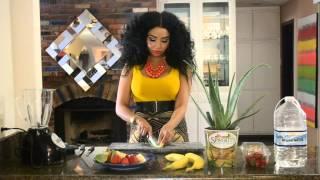 Aloe Banana Berry Smoothie