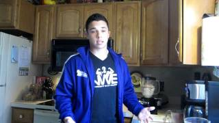 Meal BY meal #1 - Official 2012 Bulking Diet - Bodybuilder Nick Wright