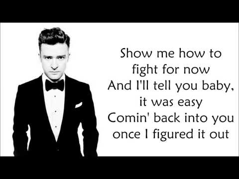 JUSTIN TIMBERLAKE    MIRROR    CHORDS & LYRICS