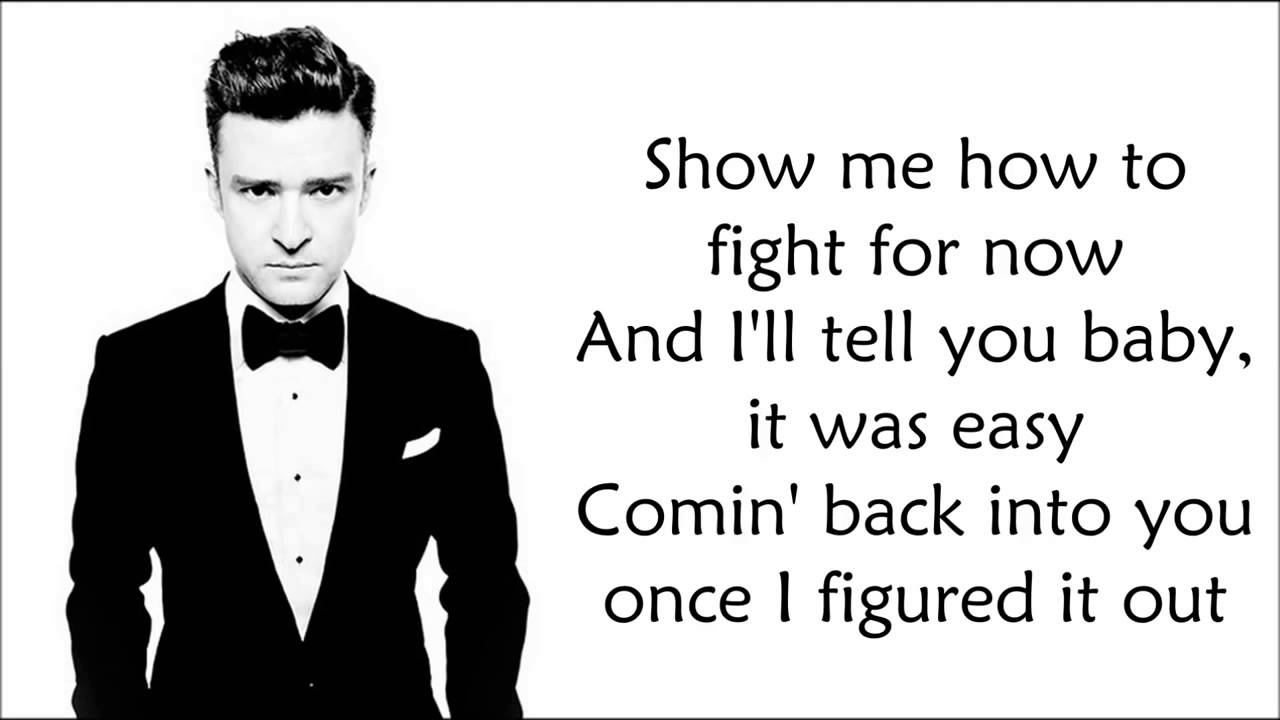 JUSTIN TIMBERLAKE MIRROR CHORDS & LYRICS - YouTube Justin Timberlake Song