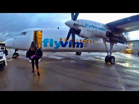 VLM Are BACK! Fokker 50 Flight Experience, London City To Antwerp