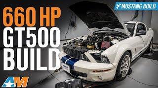 660 Horsepower 2008 Shelby GT500 Whipple Supercharger Build